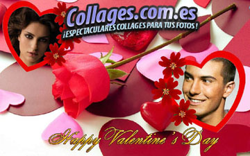 Collages Happy Valentine.