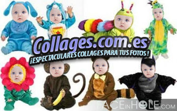 Collages Infantiles con Disfraces.
