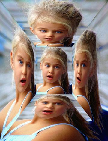 Collages efecto espejo crea bonitos collages con tus - Pintaunas efecto espejo ...