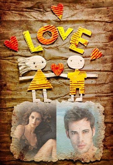 Collages para Fotos de Amor.