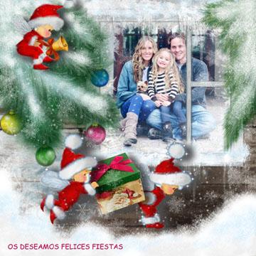 Collages de Navidad para hacer con mis fotos.